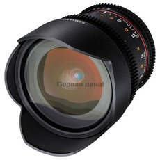 купить объектив Samyang 10mm T3.1 ED AS NCS CS VDSLR Sony-E