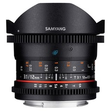 купить объектив Samyang 12mm T3.1 ED AS NCS VDSLR for Micro 4/3