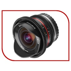 купить объектив Samyang 8mm T3.1 Cine UMC Fish-eye II VDSLR Sony-E